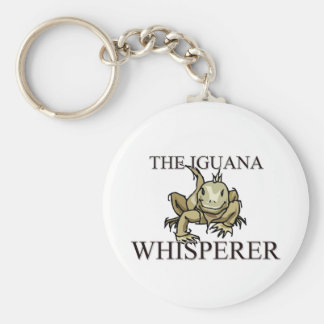 El Whisperer de la iguana Llavero Redondo Tipo Pin