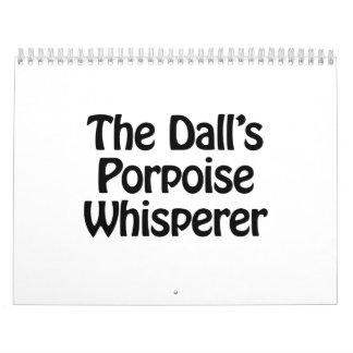 el whisperer de la masopa de los dalls calendarios
