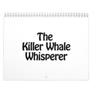 el whisperer de la orca calendarios
