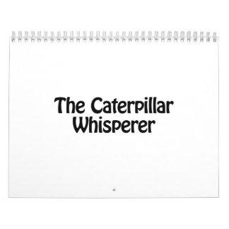 el whisperer de la oruga calendario
