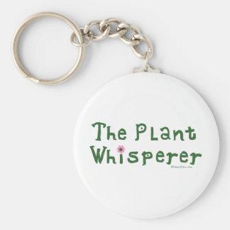 El whisperer de la planta llavero redondo tipo pin