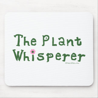 El whisperer de la planta mousepads