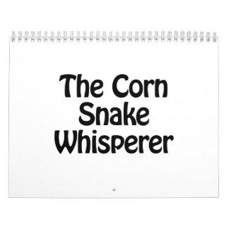 el whisperer de la serpiente de maíz calendarios