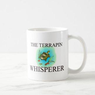 El Whisperer de la tortuga acuática Taza