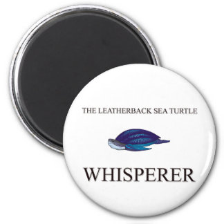 El Whisperer de la tortuga de mar del Leatherback Imán