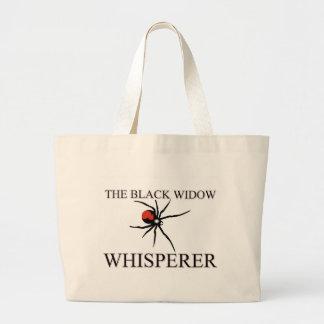 El Whisperer de la viuda negra Bolsa De Mano