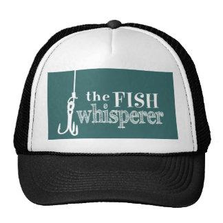 El Whisperer de los pescados (colores adaptables) Gorras