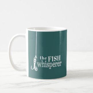El Whisperer de los pescados (colores adaptables) Tazas