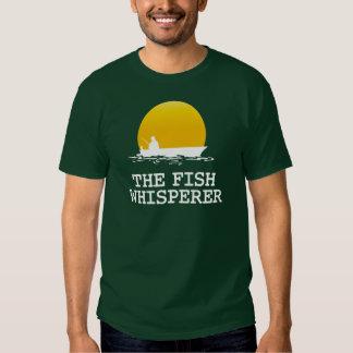 El Whisperer de los pescados Playera