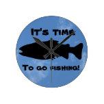 El whisperer de los pescados relojes de pared