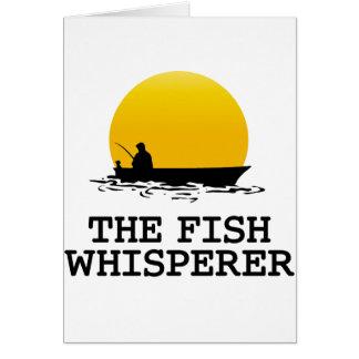 El Whisperer de los pescados Tarjetas