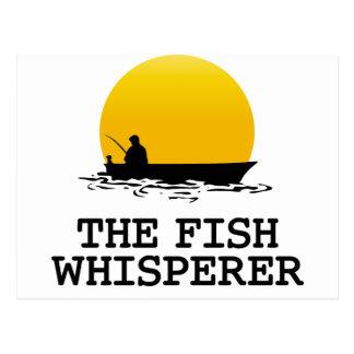 El Whisperer de los pescados Postal