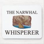 El Whisperer de Narwhal Tapete De Ratón
