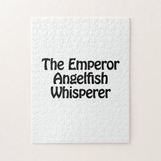 el whisperer del angelfish del emperador rompecabeza