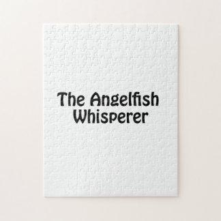 el whisperer del angelfish rompecabezas con fotos