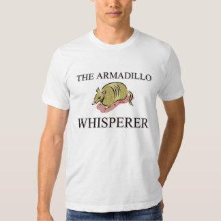 El Whisperer del armadillo Playera