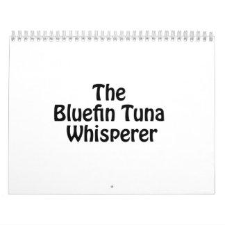el whisperer del atún de bluefin calendario