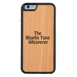 el whisperer del atún de bluefin funda de iPhone 6 bumper cerezo