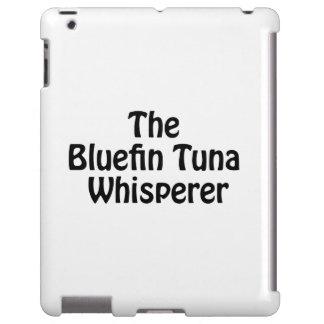 el whisperer del atún de bluefin funda para iPad