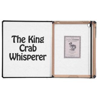 el whisperer del cangrejo de rey iPad cobertura