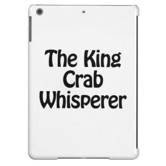 el whisperer del cangrejo de rey funda para iPad air