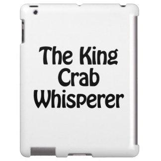 el whisperer del cangrejo de rey funda para iPad