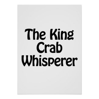 el whisperer del cangrejo de rey póster