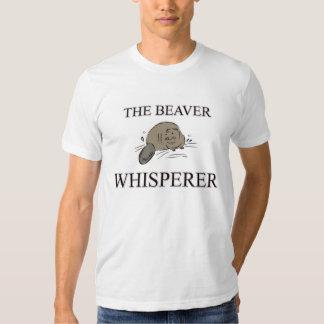 El Whisperer del castor Polera