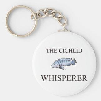 El Whisperer del Cichlid Llaveros Personalizados