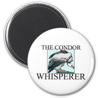 El Whisperer del cóndor Imán Redondo 5 Cm