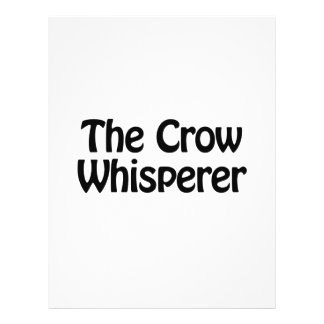 el whisperer del cuervo folleto 21,6 x 28 cm