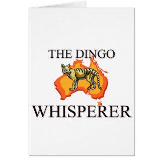 El Whisperer del Dingo Tarjetón