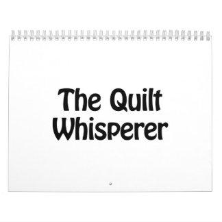 el whisperer del edredón calendario