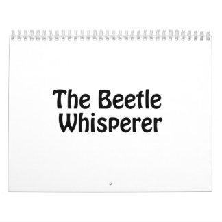 el whisperer del escarabajo calendario