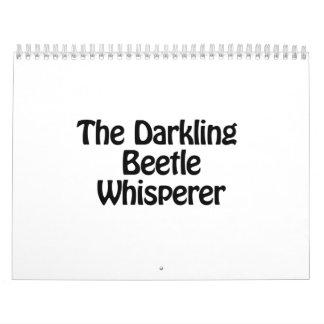 el whisperer del escarabajo darkling calendario