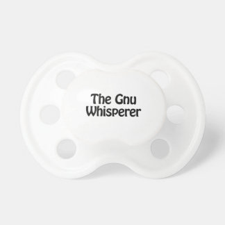 el whisperer del gnu chupetes