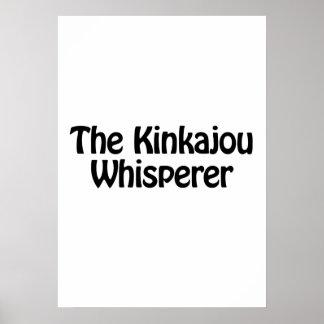 el whisperer del kinkajou póster