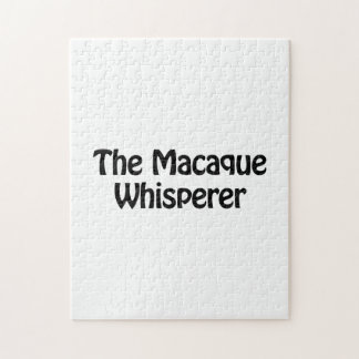 el whisperer del macaque rompecabeza