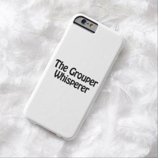 el whisperer del mero funda de iPhone 6 barely there