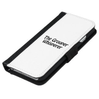 el whisperer del mero funda cartera para iPhone 6