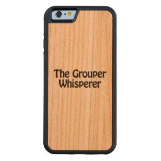 el whisperer del mero funda de iPhone 6 bumper cerezo