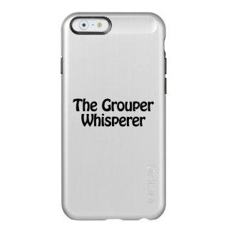 el whisperer del mero funda para iPhone 6 plus incipio feather shine
