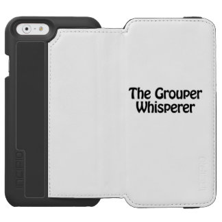 el whisperer del mero funda cartera para iPhone 6 watson
