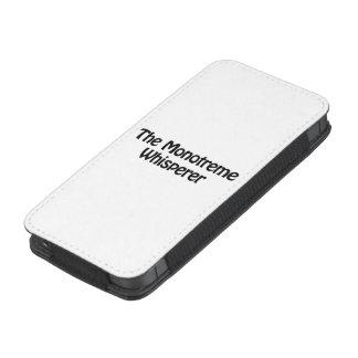 el whisperer del monotreme bolsillo para iPhone