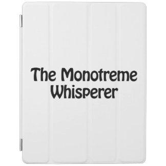 el whisperer del monotreme cubierta de iPad
