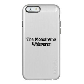 el whisperer del monotreme funda para iPhone 6 plus incipio feather shine