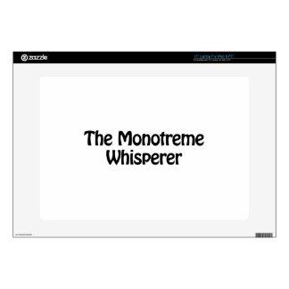 el whisperer del monotreme skins para 38,1cm portátil