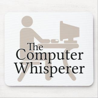 El Whisperer del ordenador Alfombrillas De Raton