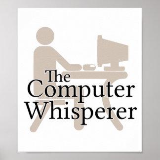 El Whisperer del ordenador Póster