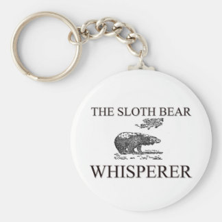 El Whisperer del oso de pereza Llavero Personalizado